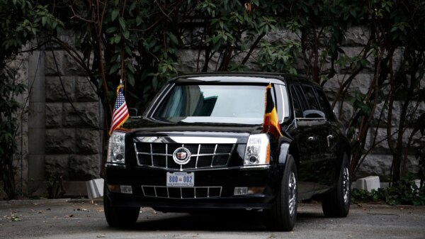 Cadillac One Donald Trump