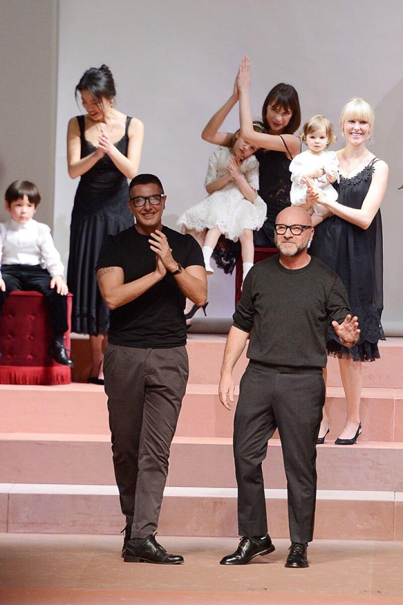 Finalmente y casi después de cinco meses, los diseñadores se disculparon por sus comentarios sobre la adopción de niños por homosexuales.
