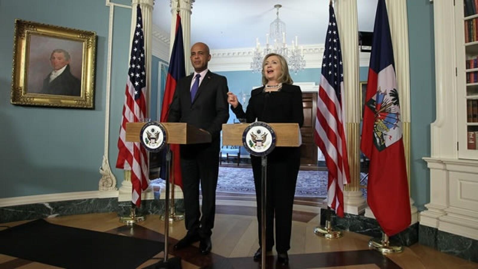 EU - Hillary Clinton - presidente Haití