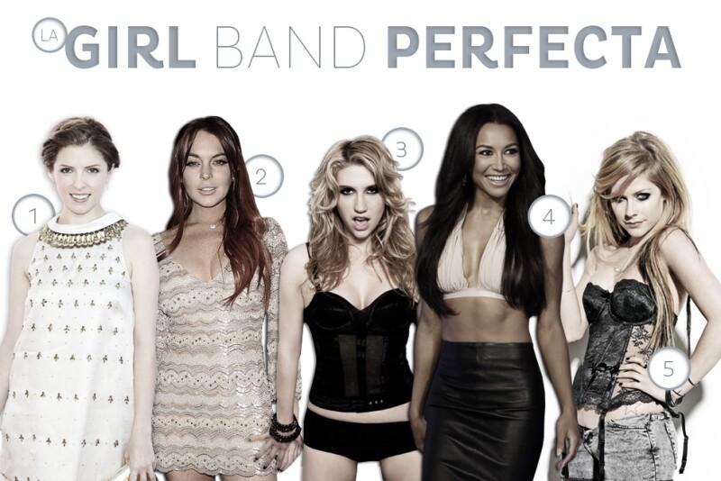 Hay algo muy especial en ver a un grupo de mujeres sexys y talentosas unidas como una sola. Aquí lo armamos a lo grande; les presentamos a la Girl Band perfecta.