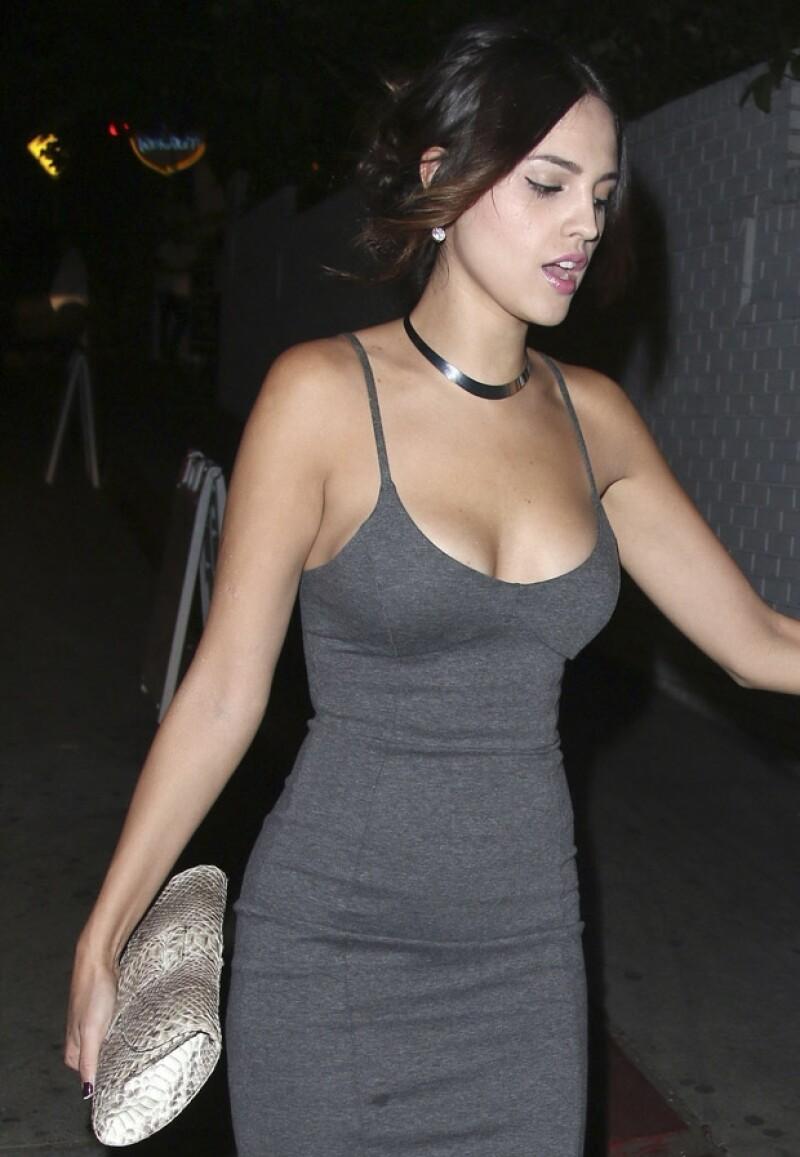 La actriz ha tenido gran éxito desde que se mudó a Los Ángeles.