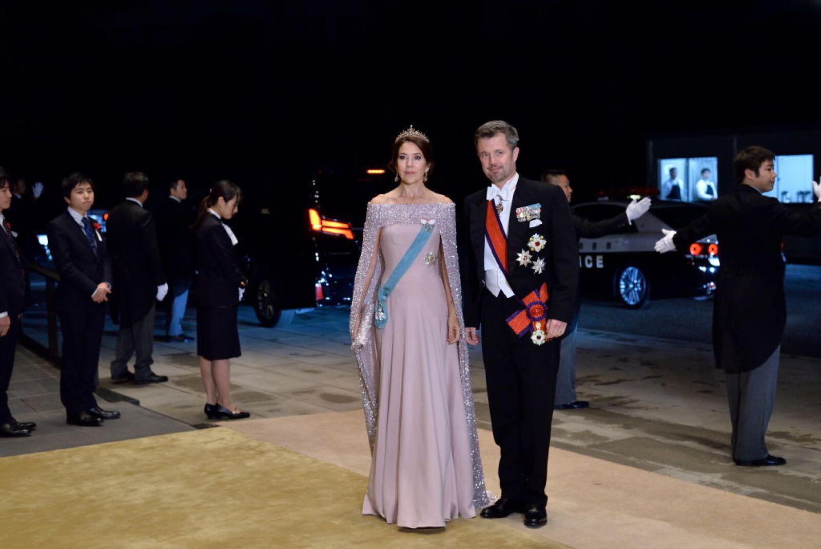 Mary y Federico de Dinamarca