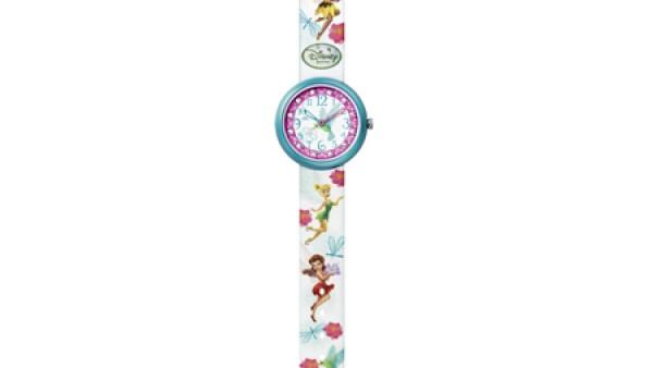 Reloj Flik Flak de Hadas Disney. Para niñas mayores de 5 años. De venta en Imaginarium y relojerías.