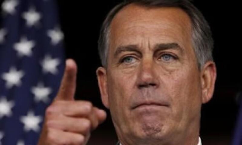 """""""Ellos no han estado dispuestos a poner un plan real sobre la mesa"""", dijo el presidente de la Cámara baja, John Boehner. (Foto: Reuters)"""