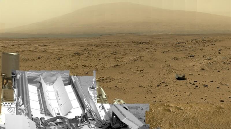 Curiosity Marte 1,300m pixeles