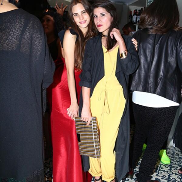 Macarena Achaga y Ximena Ayala