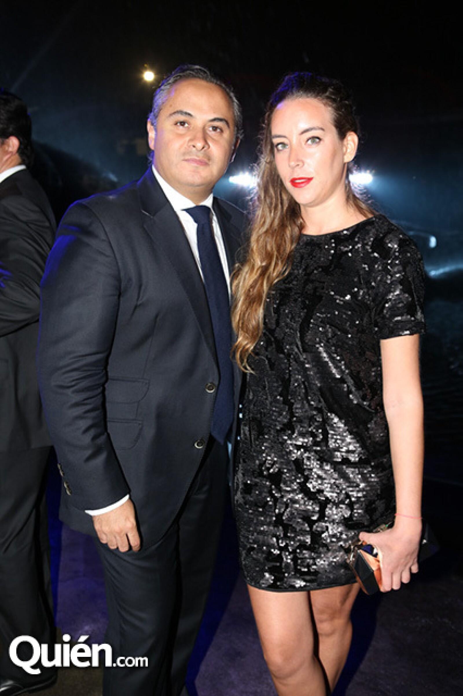 Enrique Rubio y María Escriva