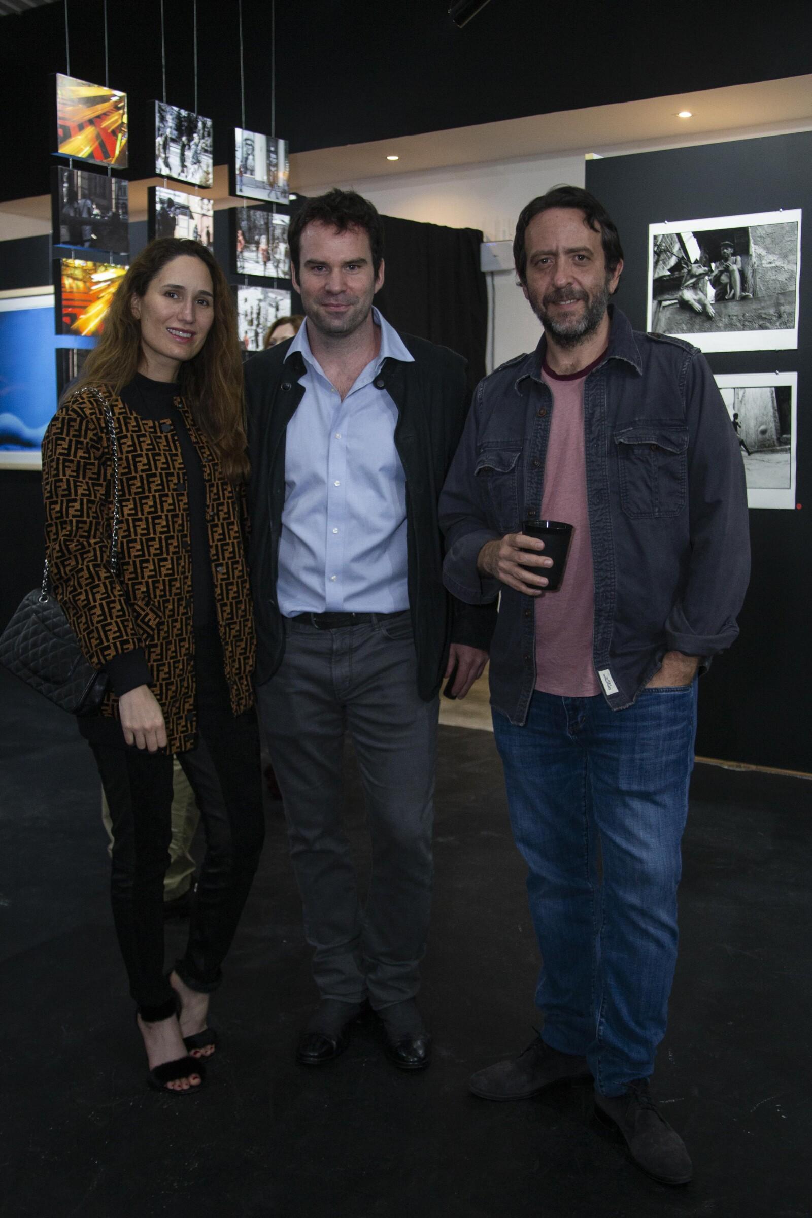 Daniela Garza, Tim Tracy, Rogelio Enríquez