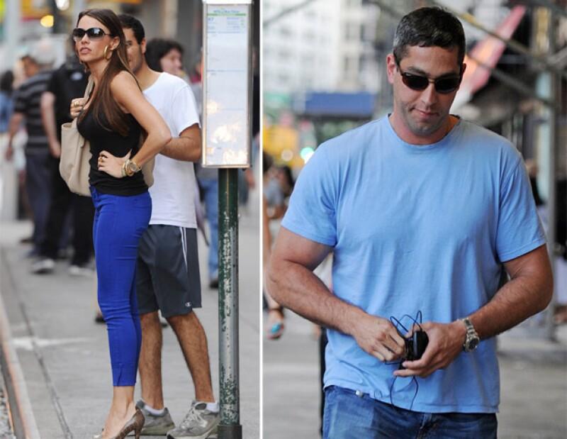 A pesar de que los rumores sobre la posible ruptura con su ex pareja Nick Loeb, hoy fueron vistos saliendo de un restaurante de Nueva York.