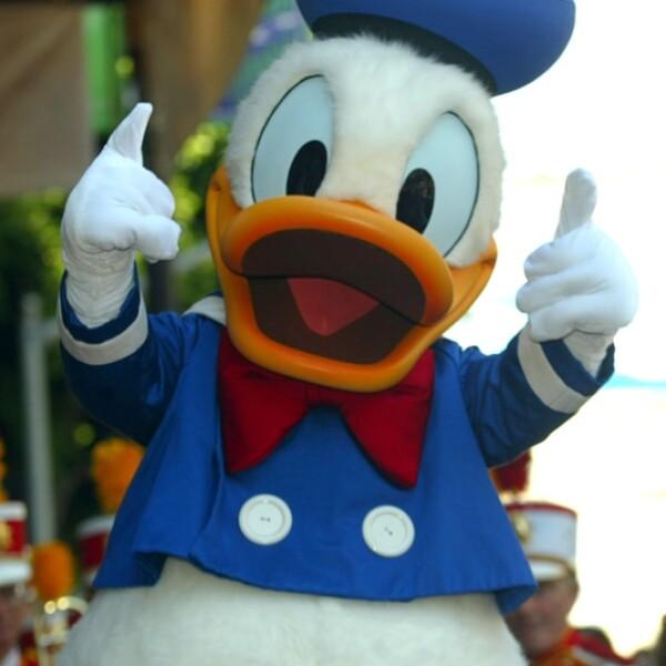 pato Donald fue el co-presentador del programa