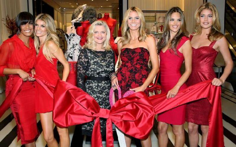 Modelos como Heidi Klum, Alexandra Ambrosio, entre otras, fueron las anfitrionas de la fiesta de apertura de la nueva sucursal de la famosa marca de lencería.