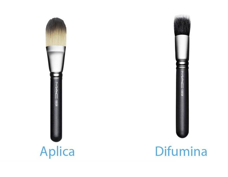 Las herramientas que necesitas para aplicar el maquillaje