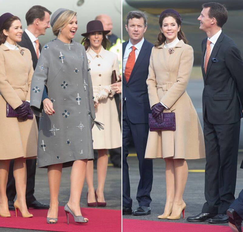 Sus outfits fueron diferentes pero coincidieron en la firma de zapatos: Louboutin.