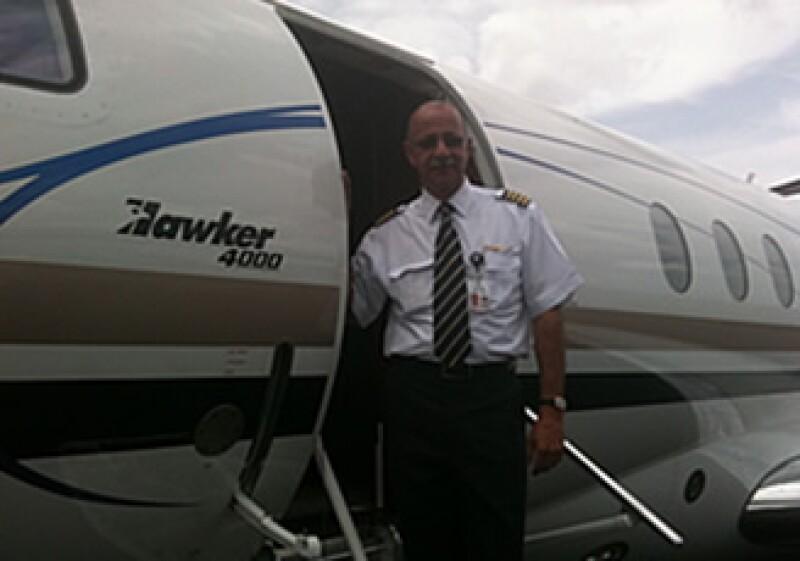 El Hawker 4000 forma parte de la nueva flotilla de la empresa. (Foto: CNNExpansión.com)