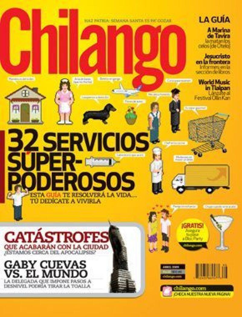 La delegada de la Miguel Hidalgo platicó con Chilango, revista que saca en su edición de abril un reportaje sobre el conflicto vial que existe en la demarcación.