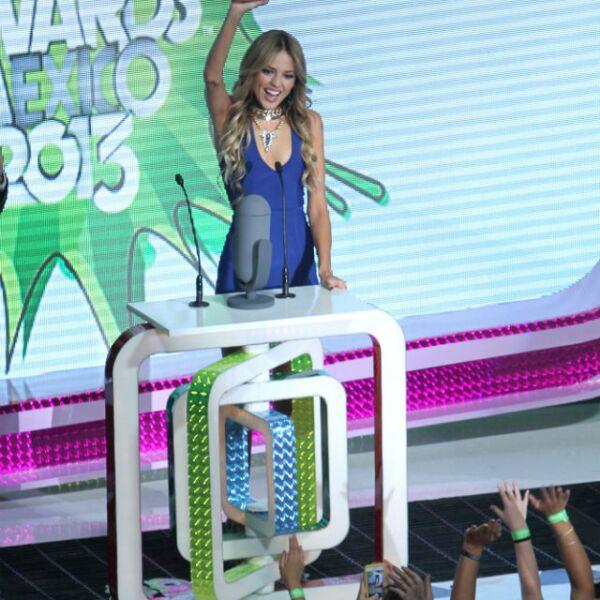 En agosto de 2013, Eiza fue la ganadora de la noche en los Kids Choice Awards.