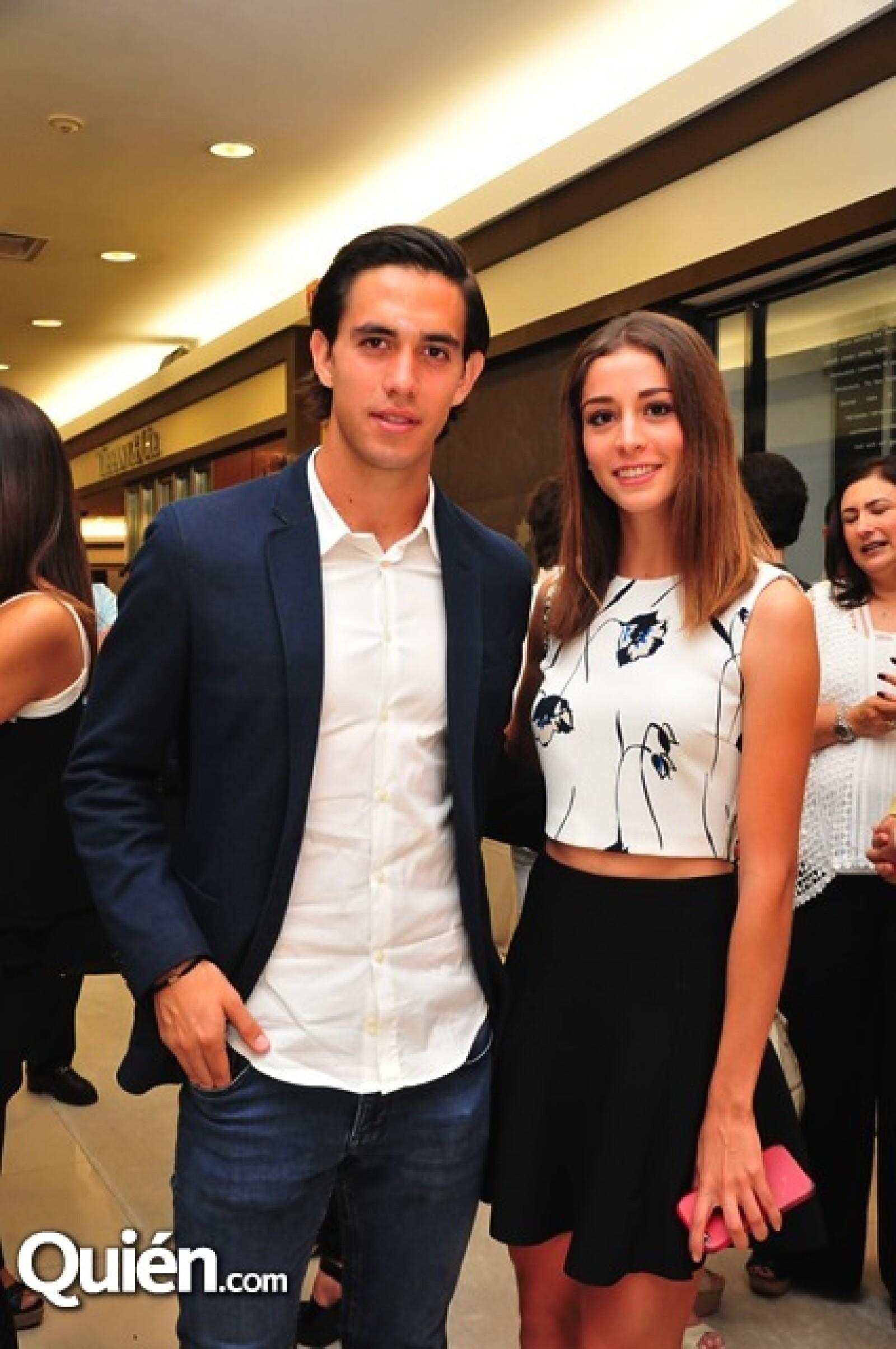 Alberto Sánchez y Paola Mora