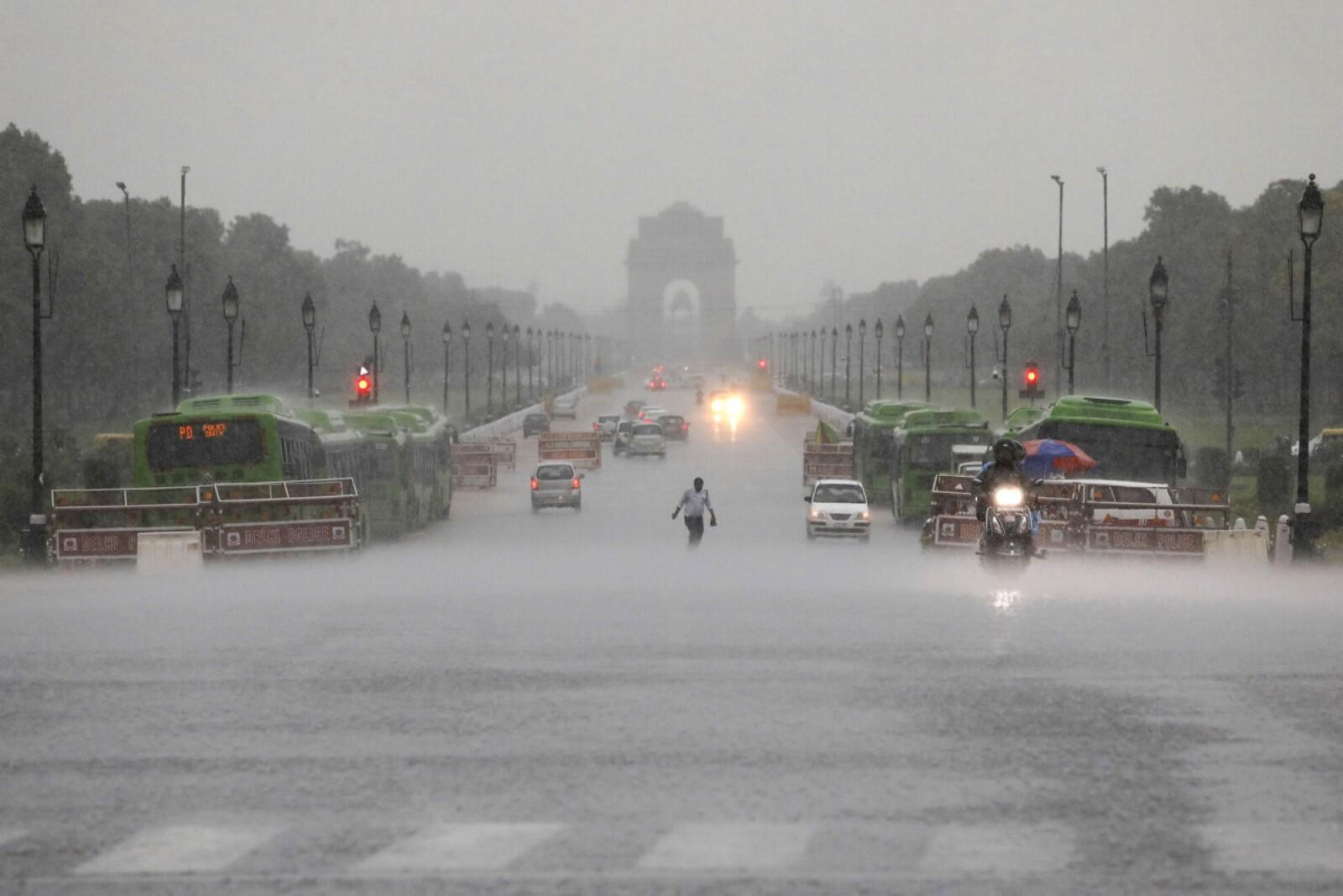 Lluvias India