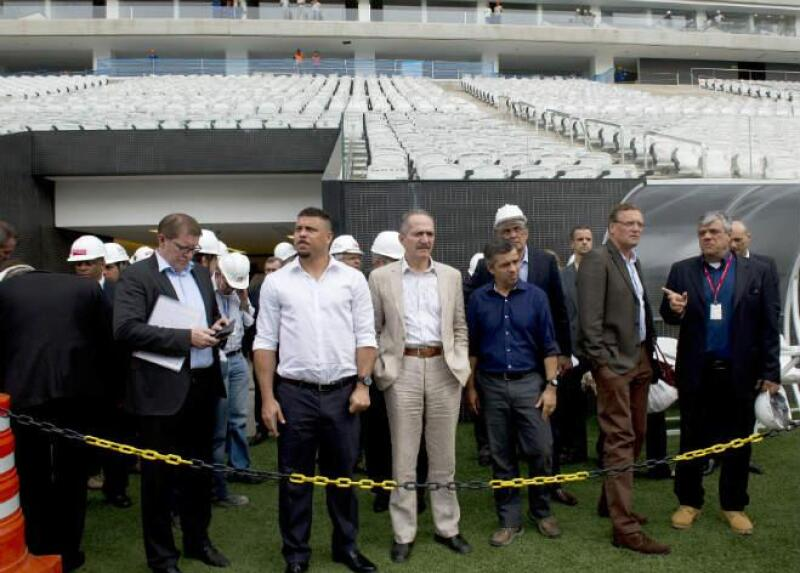 Obras en el estadio Arena Corinthians