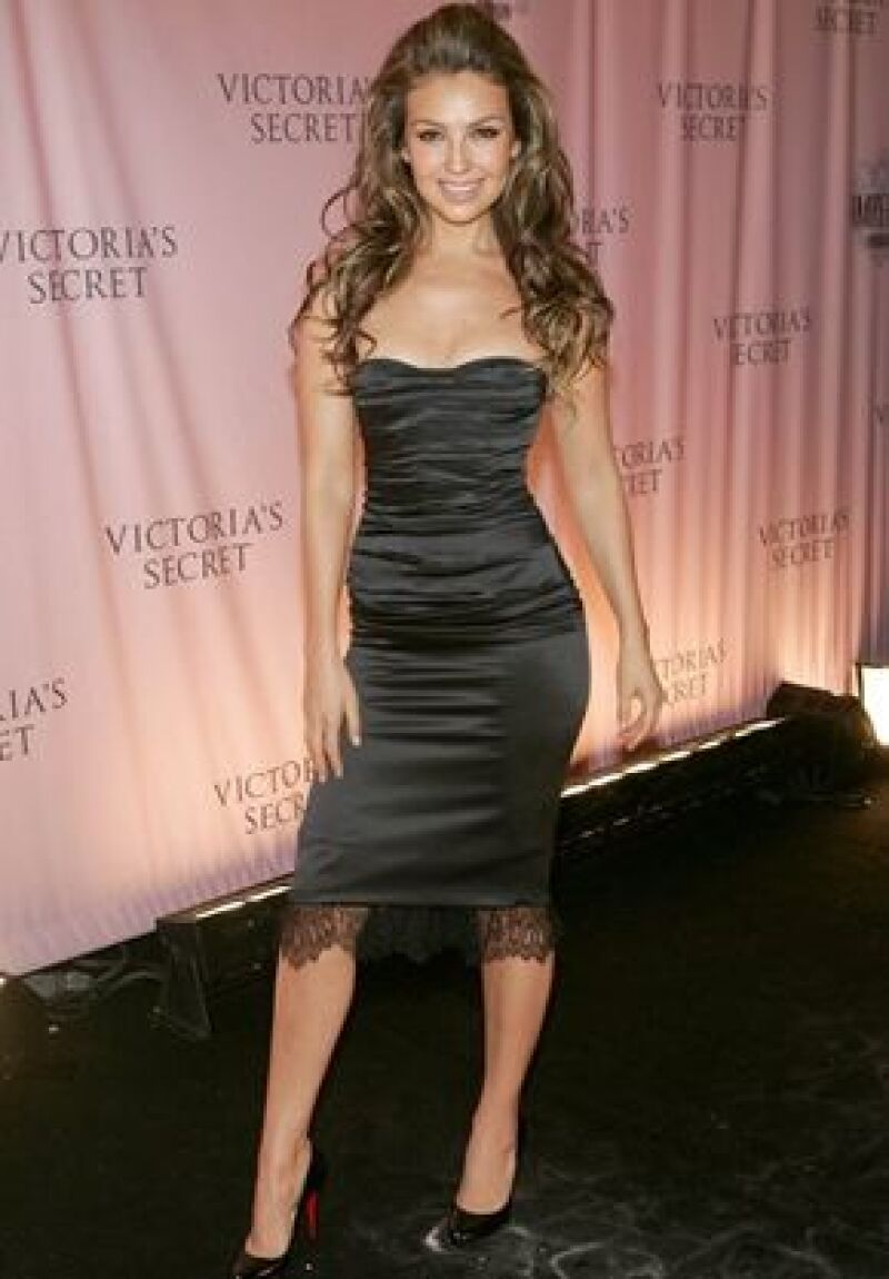 En el fashion show de Victorias Secret en 2005.
