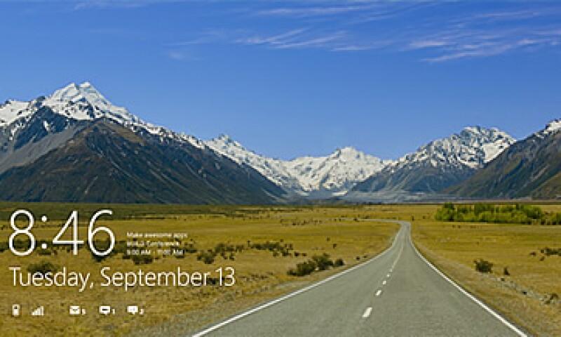 Ya se puede descargar desde el sitio web de Microsoft una versión prueba de Windows 8. (Foto: AP)