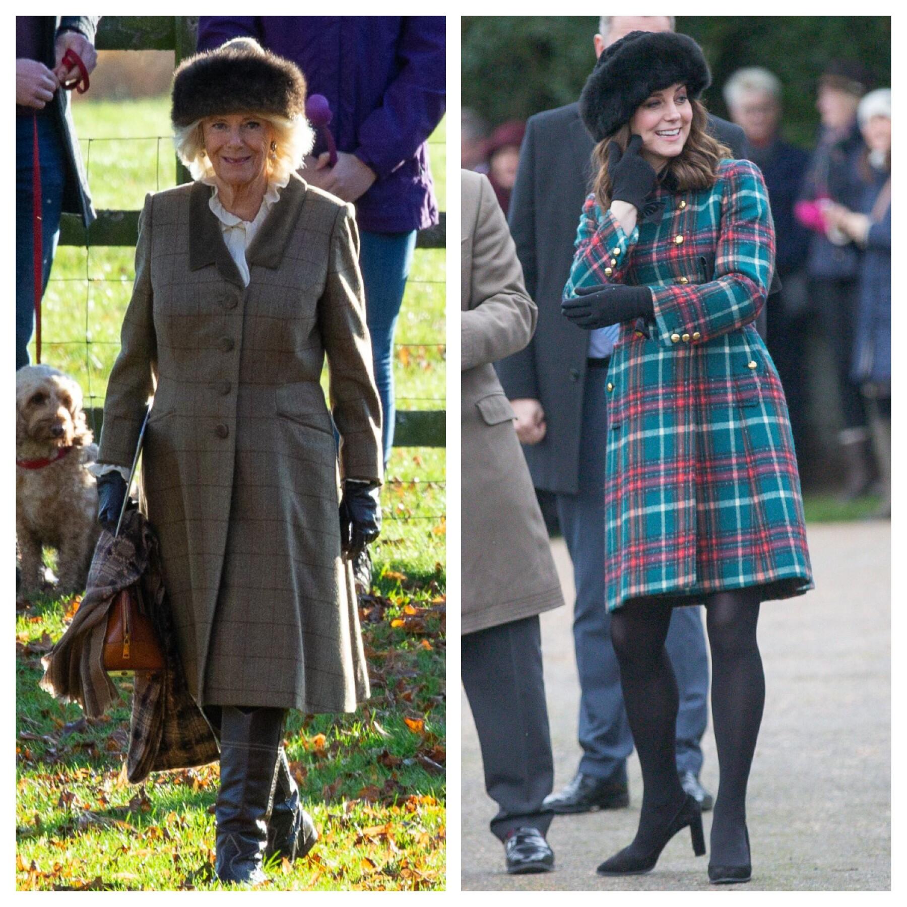 Camila Parker y Kate Middleton