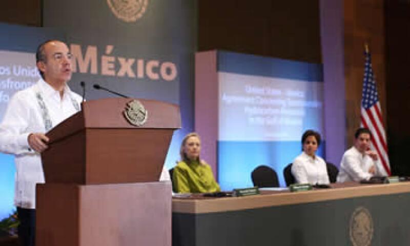 Calderón recordó que el papel del FMI y del Tesoro de EU fueron fundamentales para México y América Latina cuando pasaron por las peores crisis de liquidez. (Foto: Notimex)