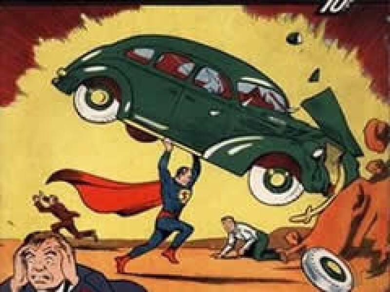 La primer historieta del super héroe data de 1938. (Foto: AP)