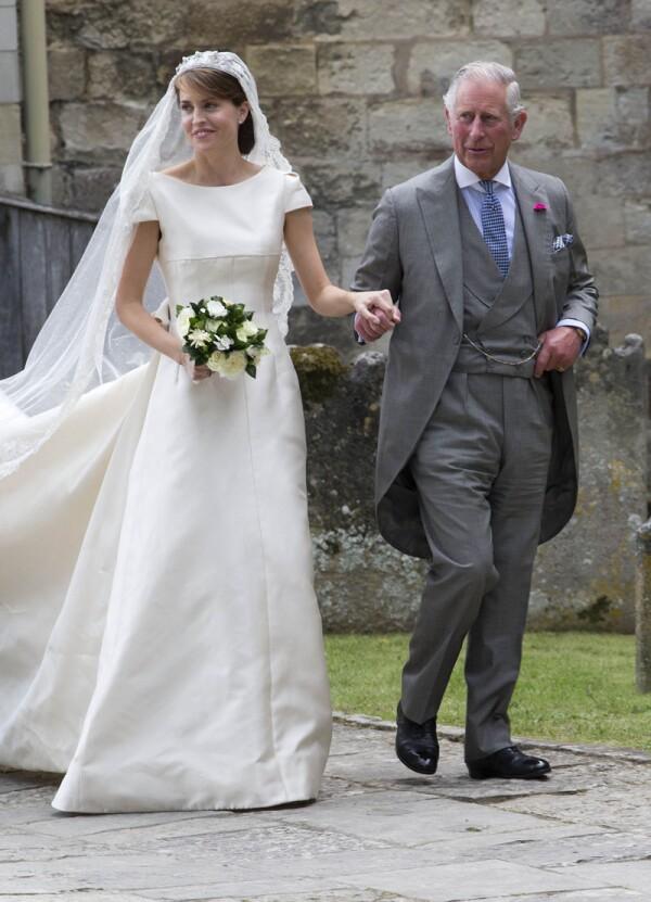 Wedding of Alexandra Knatchbull and Thomas Hooper, Romsey Abbey,  Hampshire, UK - 25 Jun 2016