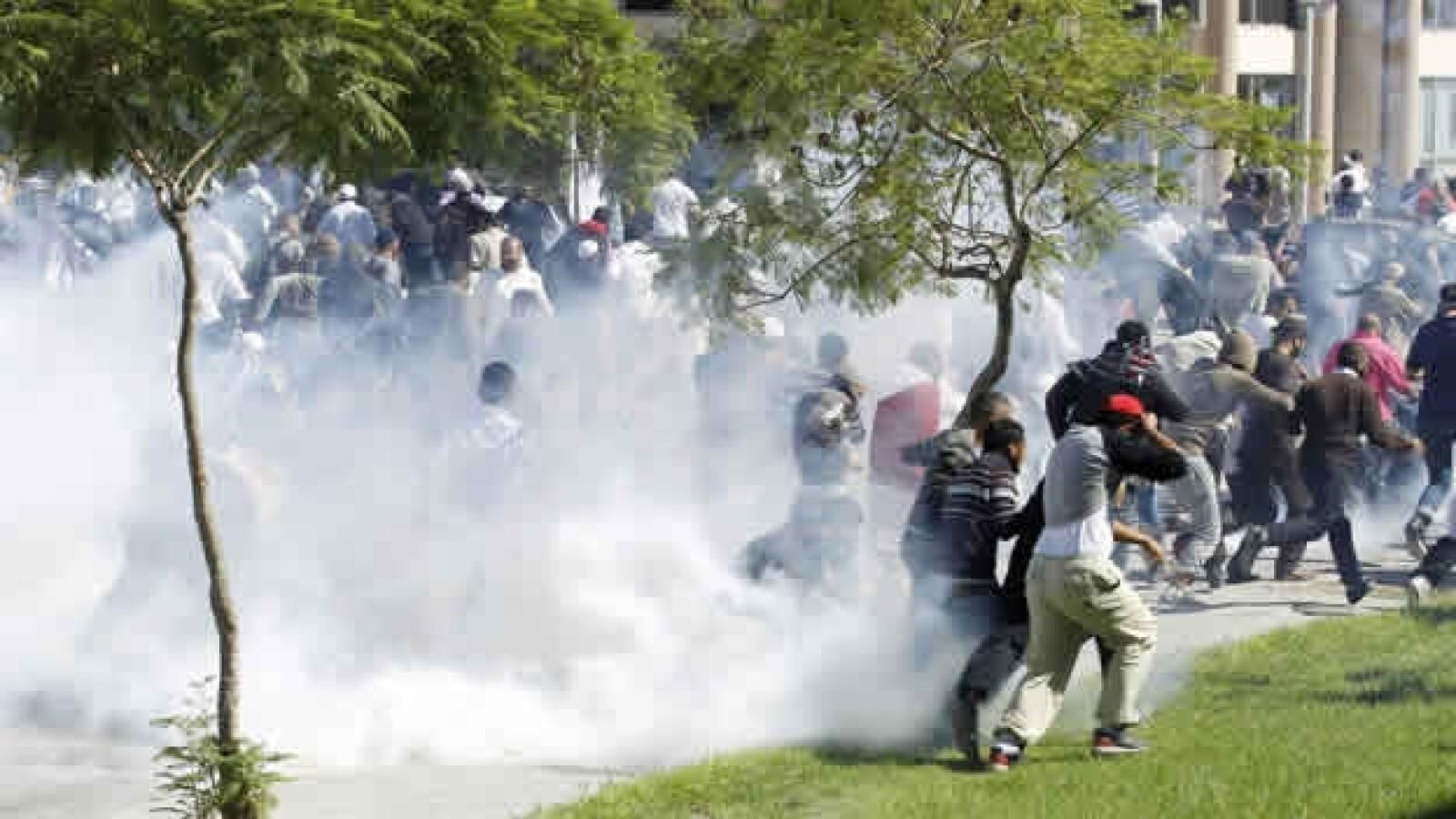 protestas Túnez musulmanes 1