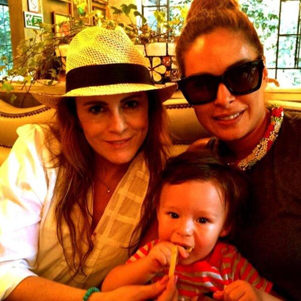 Con Roxanna Castellanos.