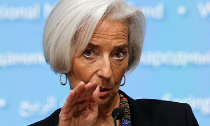 En la toma de decisión del FMI, encabezado por Christine Lagarde, se incluyeron representantes de Rusia y EU. (Foto: Reuters)