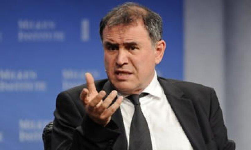 Roubini (en la imagen) dijo que las ganancias corporativas de EU por sí solas no explican el alza en el mercado de valores.  (Foto: Reuters)