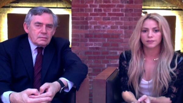 """Shakira: """"Buscamos que en el 2030 toda la población infantil tenga educación"""""""