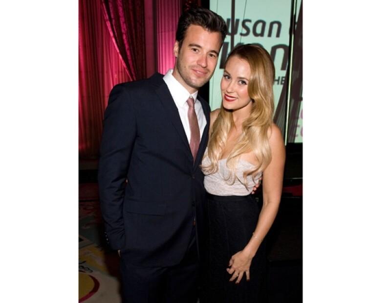 "Quien se hizo famosa por la serie ""Laguna Beach"" le compartió a sus seguidores de Twitter que está comprometida de su pareja William Tell."
