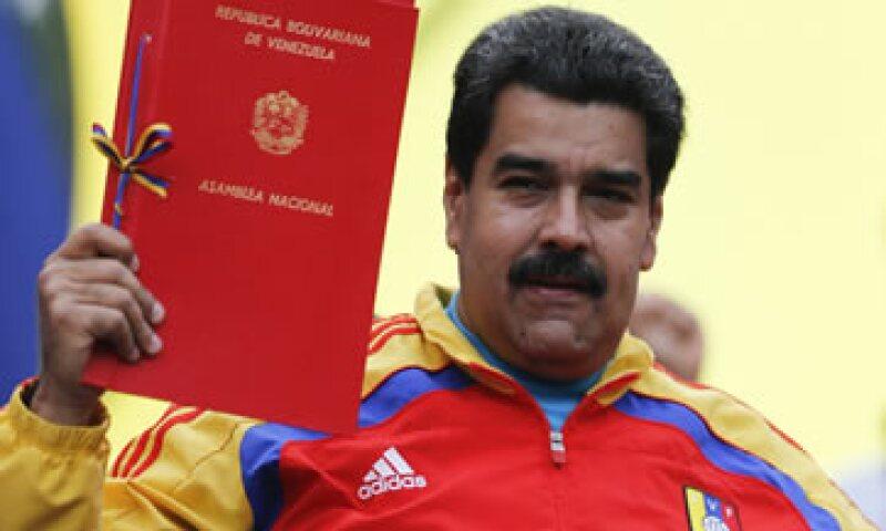 Nicolás Maduro acusa a Estados Unidos de apoyar una guerra económica contra su Gobierno. (Foto: Reuters )
