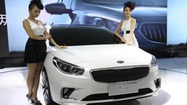 Kia Motors se ubica en el lugar 83 entre las 100 marcas más importantes del mundo, según Interbrand. (Foto: AFP)