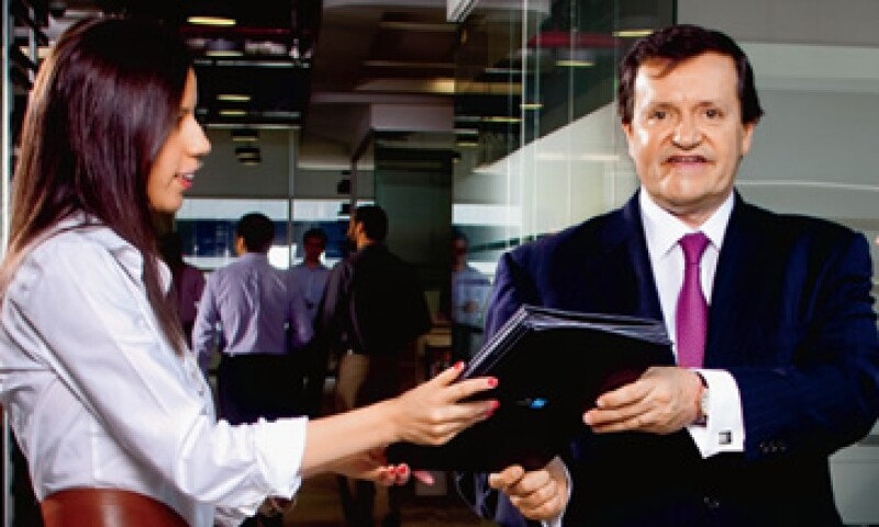 Este 2012, José María Zas, CEO de American Express México, Latinoamérica y el Caribe, trabaja con su equipo en un programa para detectar a los líderes del futuro. (Foto: Alfredo Pelcastre)