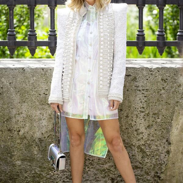 Street Style, Spring Summer 2019, Paris Fashion Week Men's, France - 24 Jun 2018