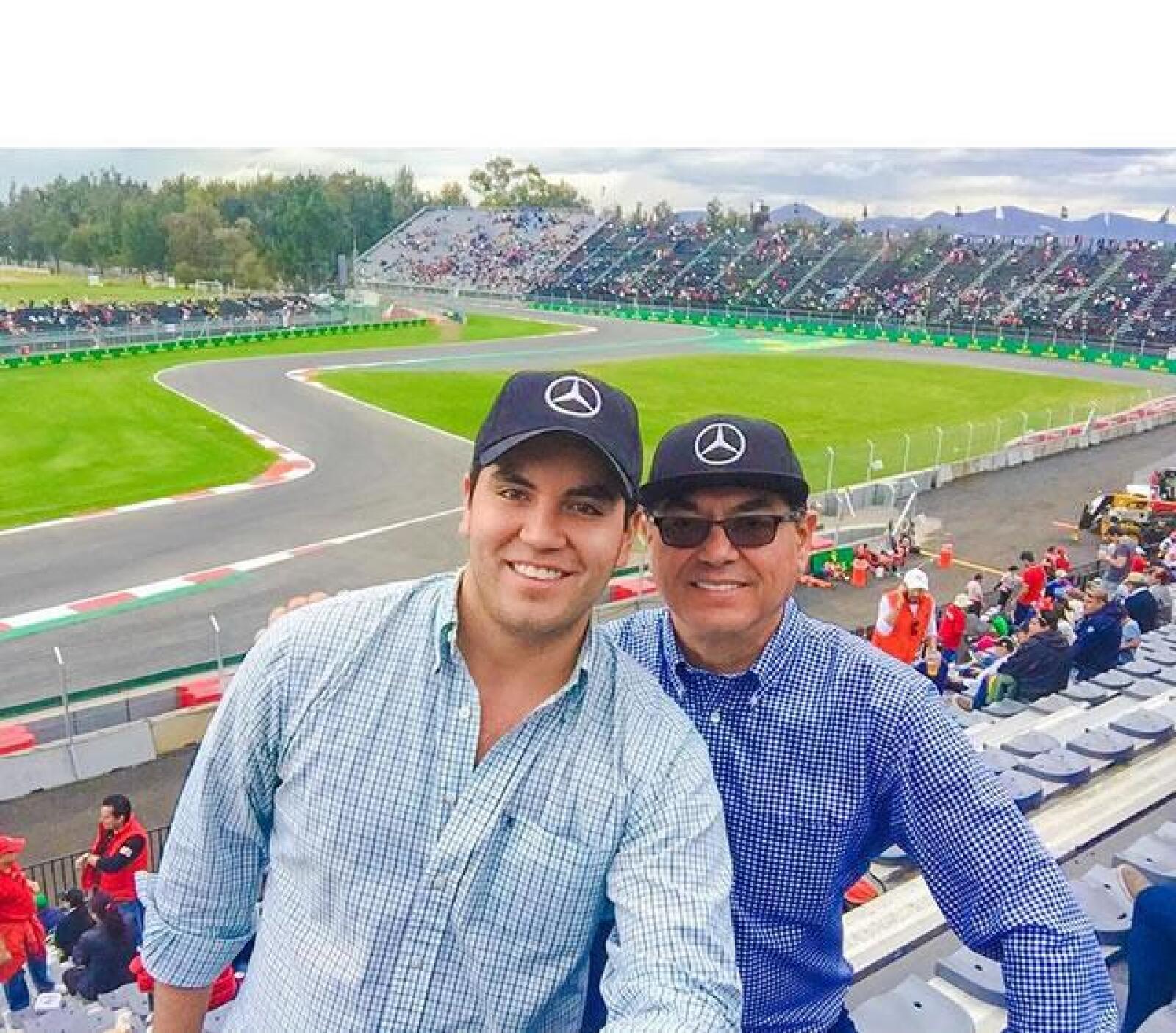 Jorge Orendain y su papa?