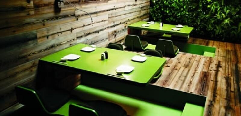 El tea room de Tori Tori es el más solicitado por los clientes. El interiorismo fue realizado en colaboración con Esrawe Studio.