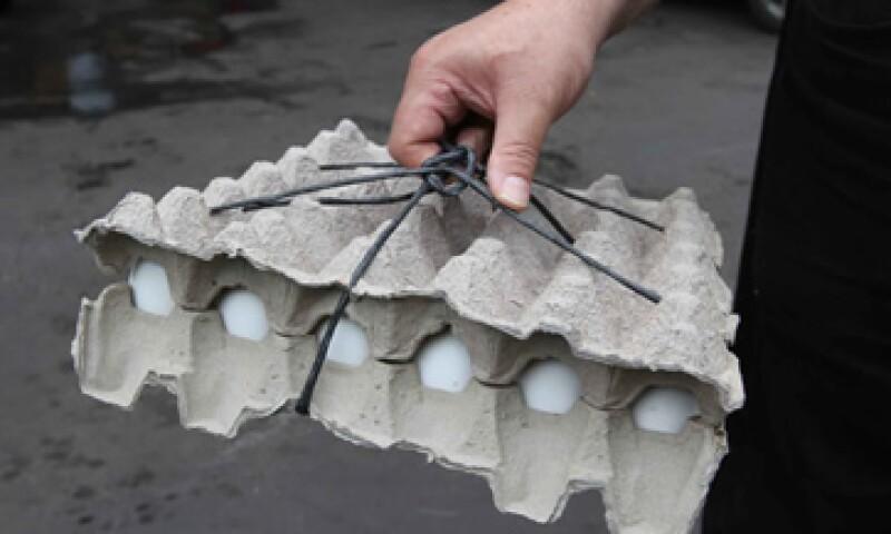 Este fin de semana ingresarán al país 100 tráileres procedentes de Estados Unidos con 2,500 toneladas de huevo. (Foto: Notimex)