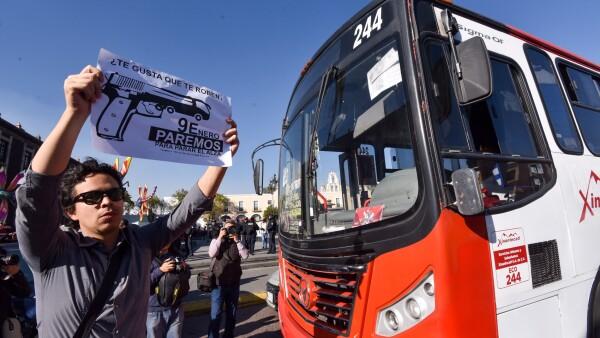 Protesta en el Edomex 1