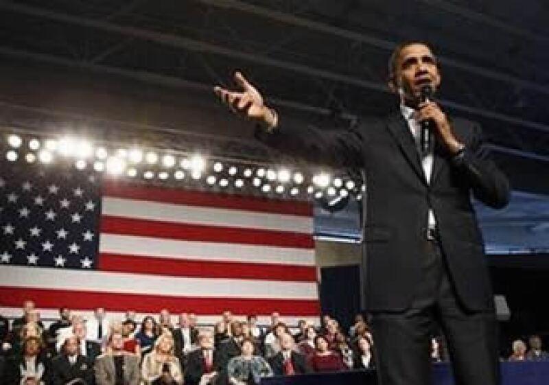 Posiblemente el mandatario estadounidense enfoque su discurso anual en la mejora económica. (Foto: Archivo)
