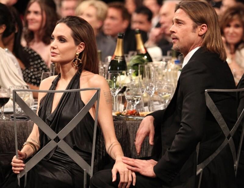 Hasta ahora, se rumora que pronto podría haber boda entre Pitt y Jolie.