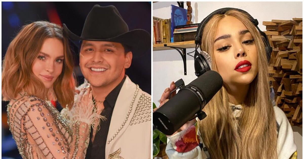 Christian Nodal rechaza hacer dueto con Danna Paola, ¿por Belinda?