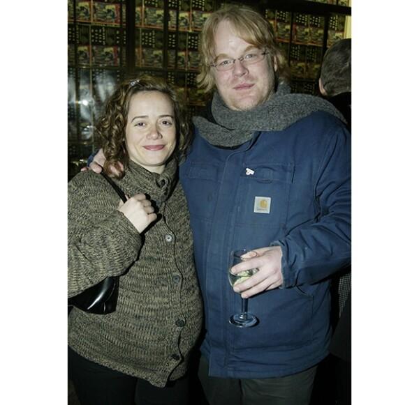 Mimi O´Donell y Philip en 2003, antes de que naciera su primer hijo juntos.