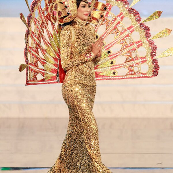 Miss Tailandia, Nutpimon Farida Waller.