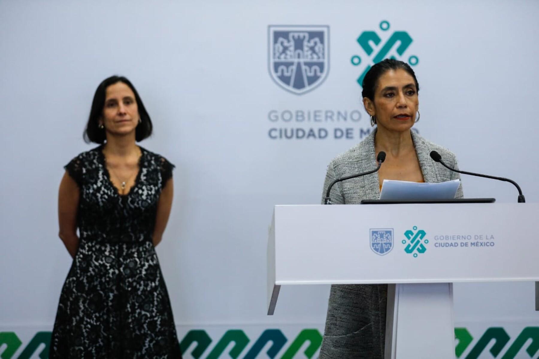 Secretarias de Salud y de Administración de la CDMX