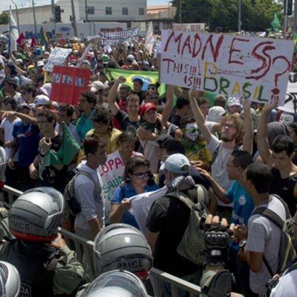 brasil, manifestaciones, fortaleza, mexico brasil